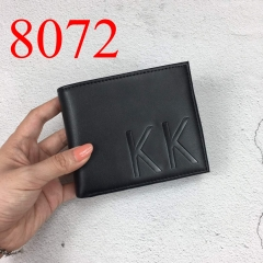 8072 high quality man wallet genuine leather