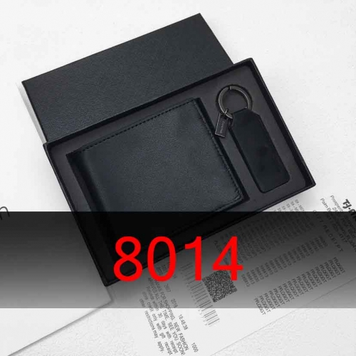 8014   man's wallet genuine leather