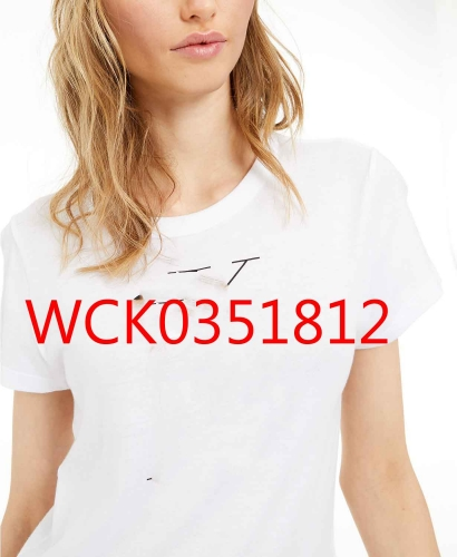 WCK0351812 woman t shirt fashion 95% cotton