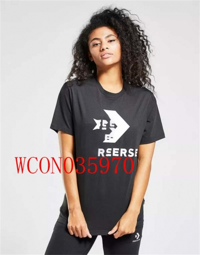 WCON035970 woman t shirt fashion 95% cotton