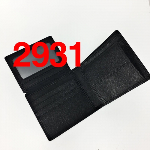 2931  high quality man wallet genuine leather
