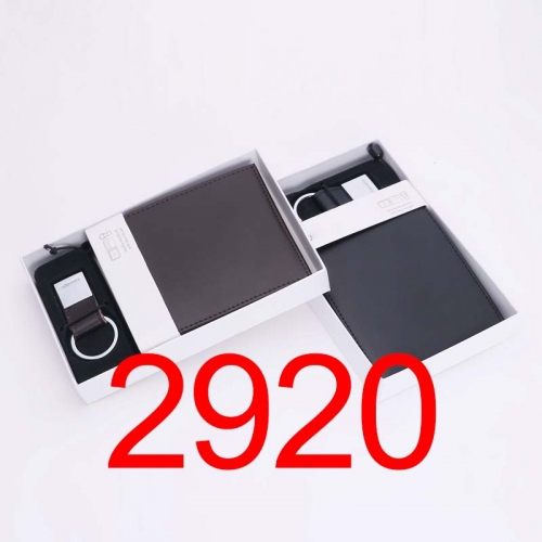 2920   high quality man wallet genuine leather