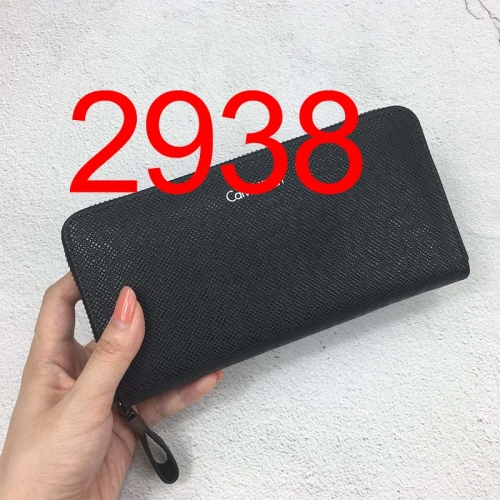 2938   long style high quality wallet genuine leather