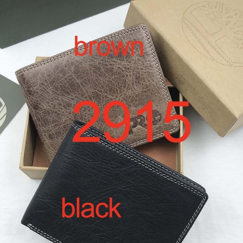 2915   high quality man wallet genuine leather