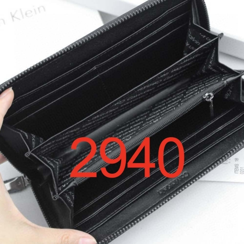 2940   high quality man wallet genuine leather