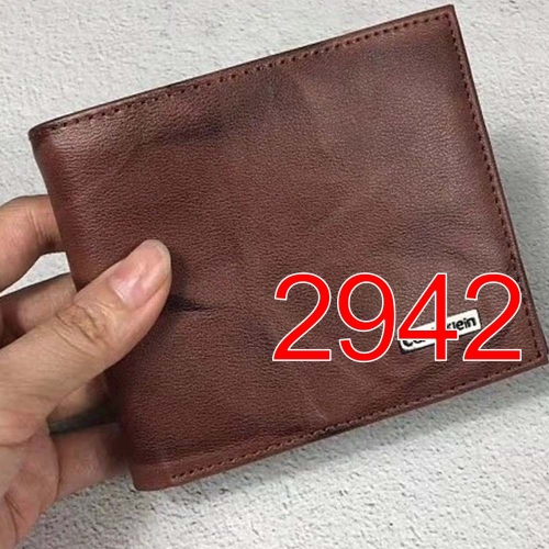 2942   high quality man wallet genuine leather
