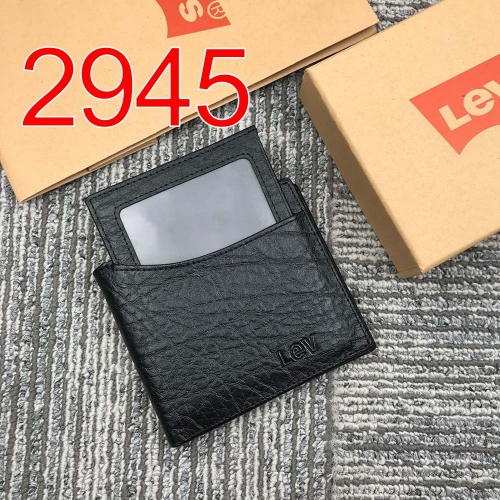 2945   high quality man wallet genuine leather