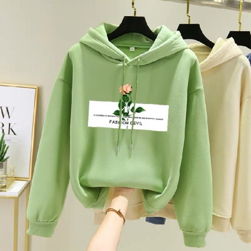 Good Quality Avocado Plush Sweater Women's Casual Wear