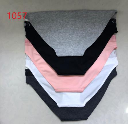 1057  women cotton underwear thong brief underwear set