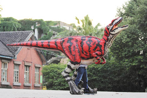 walking dinosaur costume for adults