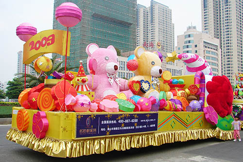Amazing Giant Parade Floats For Theme Park