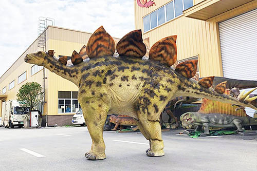 Stegosaurus 2 Person Dinosaur Costume