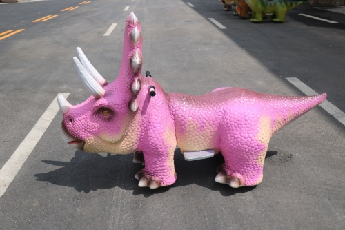 Triceratops ride for shopping mall