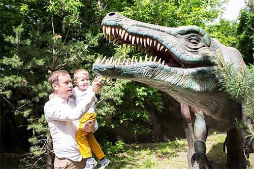 Playground Exhibition Animatronic Dinosaur