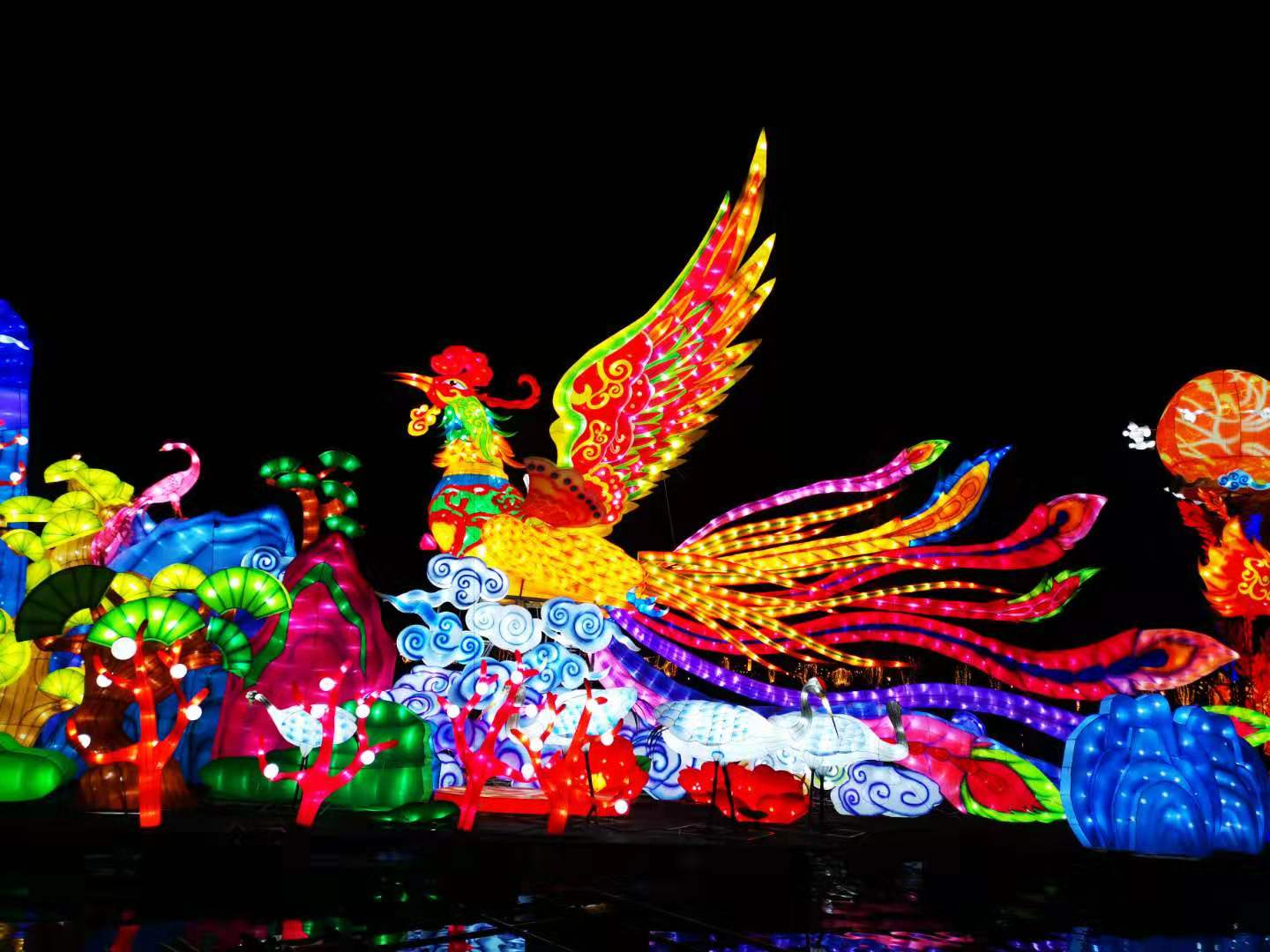 Chinese Lantern Show in 2020
