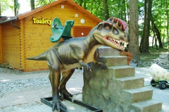 Amusement Park Robotic Animatronic Dinosaur Ride
