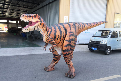 Adult Dinosaur Costume Walking Animatronic T-rex