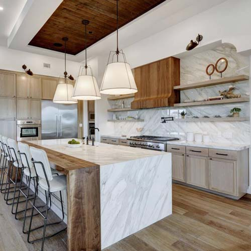 Contemporary American style  design kitchen cabinet ,project in LA,USA