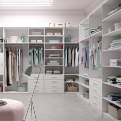 The whole cloakroom customized walk-in closet/wardrobe