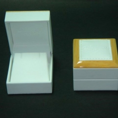 Wood Frame Large Earring Box