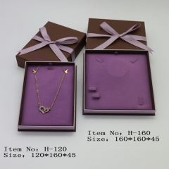 H160 Purple Ribbon Large Suit Box