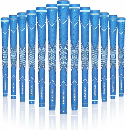 Champkey Traction-X Golf Grips Set of 13-(Free 15 Tapes Included)