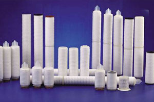 how to make pleated filter cartridge?