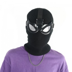 Spider-Man Far from Home Noir Black Mask with Goggles