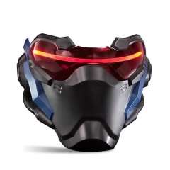 Overwatch Soldier 76 Cosplay Mask With LED