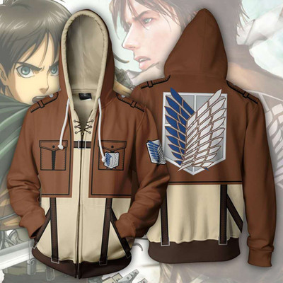 Atatck on Titan Eren Jäger Hoodies