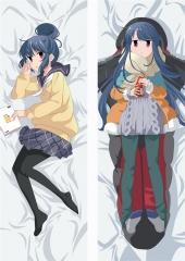 Laid-Back Camp  Yuru Dakimakura Cover