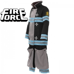 Fire Force Kusakabe Shinra Cosplay Costumes