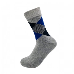 Classic Cotton Patterned Dress Socks