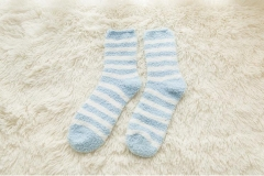 Custom Fuzzy Socks Winter Warm Cozy Soft Socks