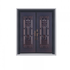 Door cast aluminum door with high quality design f...