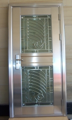 LUXURY JWG STAINLESS STEEL DOOR