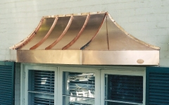 Standing Seam Copper Bay Windows