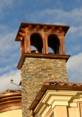 Copper Chimney Shroud/Deco Top