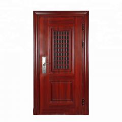 Exterior House Model Metal Security Steel Door Chi...