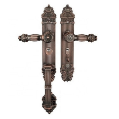 Antique Zinc Alloy Door Handle Set Zinc Handle