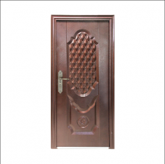 Exterior House Model Metal Door Security Steel Pri...