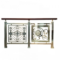 Top Quality Elegant Handrail Antique Fence Stairs