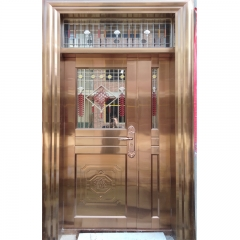 Apartment Main Gate Design 304 Stainless Steel Sec...
