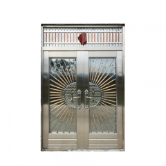 Modern Design Apartment Main Gate Stainless Steel ...