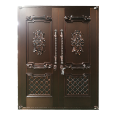 Main Door Design Luxury Style Hot Sale Brass Exter...
