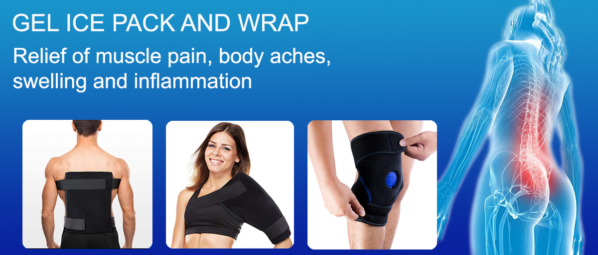 hot cold gel ice wrap sleeve