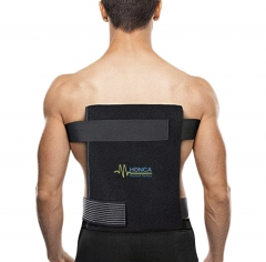 Back ice gel pack wrap