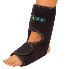 Foot and ankle gel pack wrap