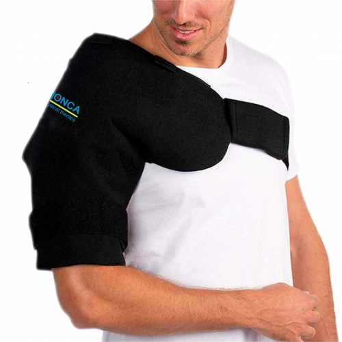 Shoulder gel pack wrap