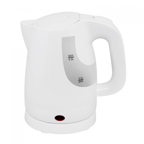 Mini Electric plastic electric Kettle led light with fast cooking mini kettle 0.9L capacity